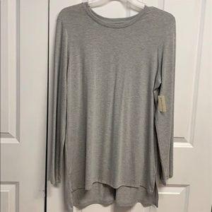 Bobbie Brooks Tunic Top Size XL Gray